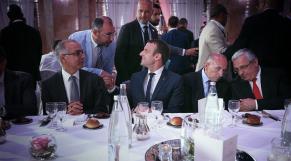 Emmanuel Macron et Chakib Benmoussa