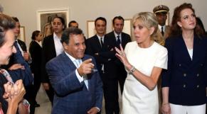 Barigitte Macron et Lalla Salma