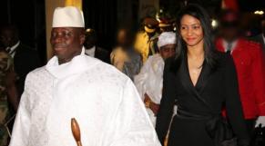 Jammeh et Zeinab Sumah