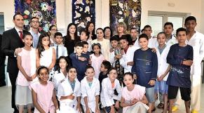 Lalla Asmaa préside la cérémonie de fin d'année scolaire de la Fondation Lalla Asmaa
