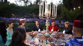 Emmanuel Macron famille royale