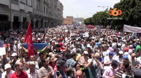 Cover Video - Le360.ma •  مظاهرة كبيرة في الرباط تضامنا مع مطالب ساكنة الحسيمة