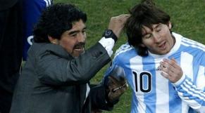 Messi et Marodona