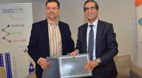 Signature BCP Endeavor Mohamed Menjra et El Wardi