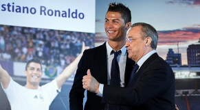 Ronaldo et Perez