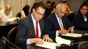 Convention Bombardier et Al Akhawayn