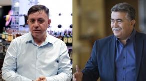 Amir Peretz et Avi Gabay