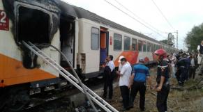 Incendie-Train