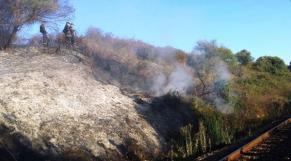 Incendie Tanger maîtrisé