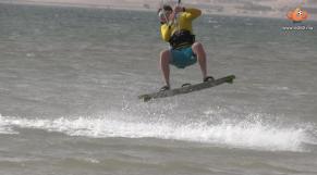 Kitesurfeurs à Dakhla