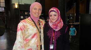Nadia Farès et Salma Benmalek