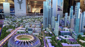 nouvelle capitale d'Egypte