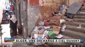 Vidéo. Alger croule sous un tas d'immondices