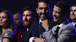 buffon et Ronaldo