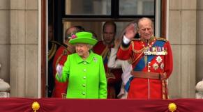 Le prince Philip et Elizabeth II