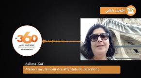 cover vidéo:Le360.ma •Marocaine, témoin des attentats de Barcelone