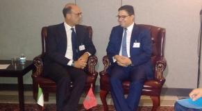 Nasser Bourita et Angelino Alfano