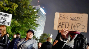 Manifestation anti AfD