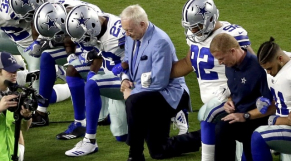 joueurs NFL anti-Trump
