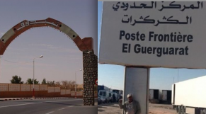 postes frontaliers Tindouf et Guerguerate