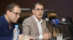 Saâd Eddine El Othmani Réunion interne PJD