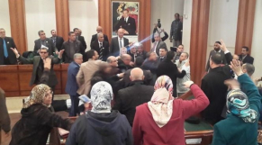 Incidents mairie de rabat