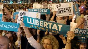 Catalogne manifestation 17 octobre