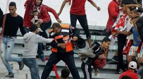 Hooligans Stade Moulay Abdallah WAC-RSB