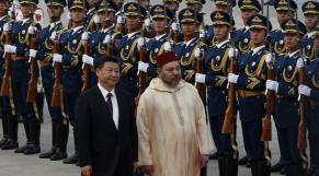 Mohammed VI en Chine