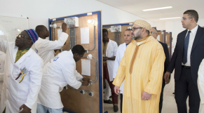 Roi Mohammed VI inauguration imams