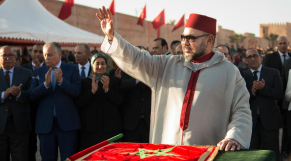 Roi Mohammed VI inauguration