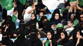Saoudiennes au stade