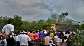 Bali, volcan