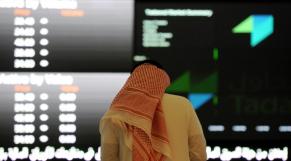 Ecran bourse saoudienne