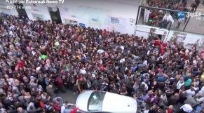 Vidéo. Impressionnante ruée de la jeunesse algérienne vers la France
