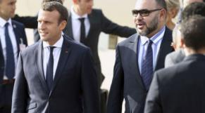 Mohammed VI Macron