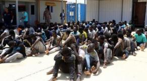 Migrants Tripoli