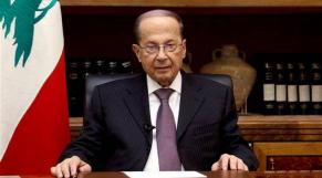 Président libanais, Michel Aoun