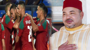 roi mohammed VI équipe