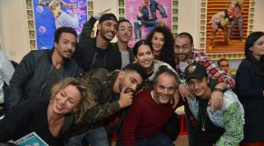 Manal, Cilvaringz, Manal BK, Smallx Shayfeen, Shobe Shayfeen, MADD et l'artiste Hassan Hajjaj