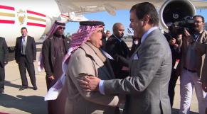 Prince moula rachid et le roi de Bahreïn
