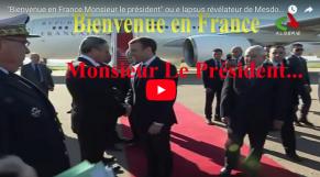 lapsus diplomate Algérie