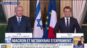 Macron et Netanyahu