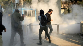 Manifestants en Iran 2