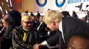 Boris Johnsson et Mohammed VI