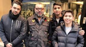 Mohammed VI Paris