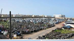 Municipalité-Rabat-motocyclettes