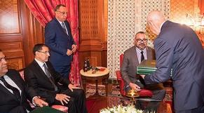 roi mohammed VI avec driss jettou