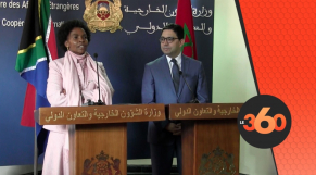 Cover: Une nouvelle page ouverte dans les relations Maroc/Afrique du Sud  Boîte de réception x