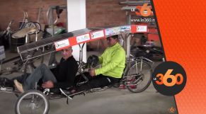 cover Video - Le360.ma • تحدي عالمي يقود مخترع ورياضي في رحلة بدراجة من طنجة الى الصين